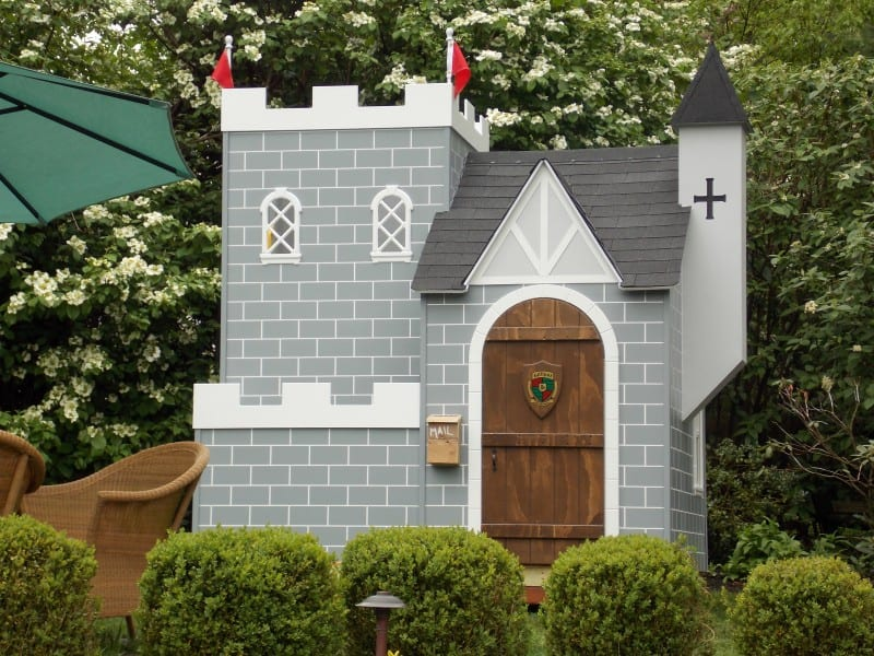 Kids Outdoor Playhouse Stunning Outdoor Playhouse For