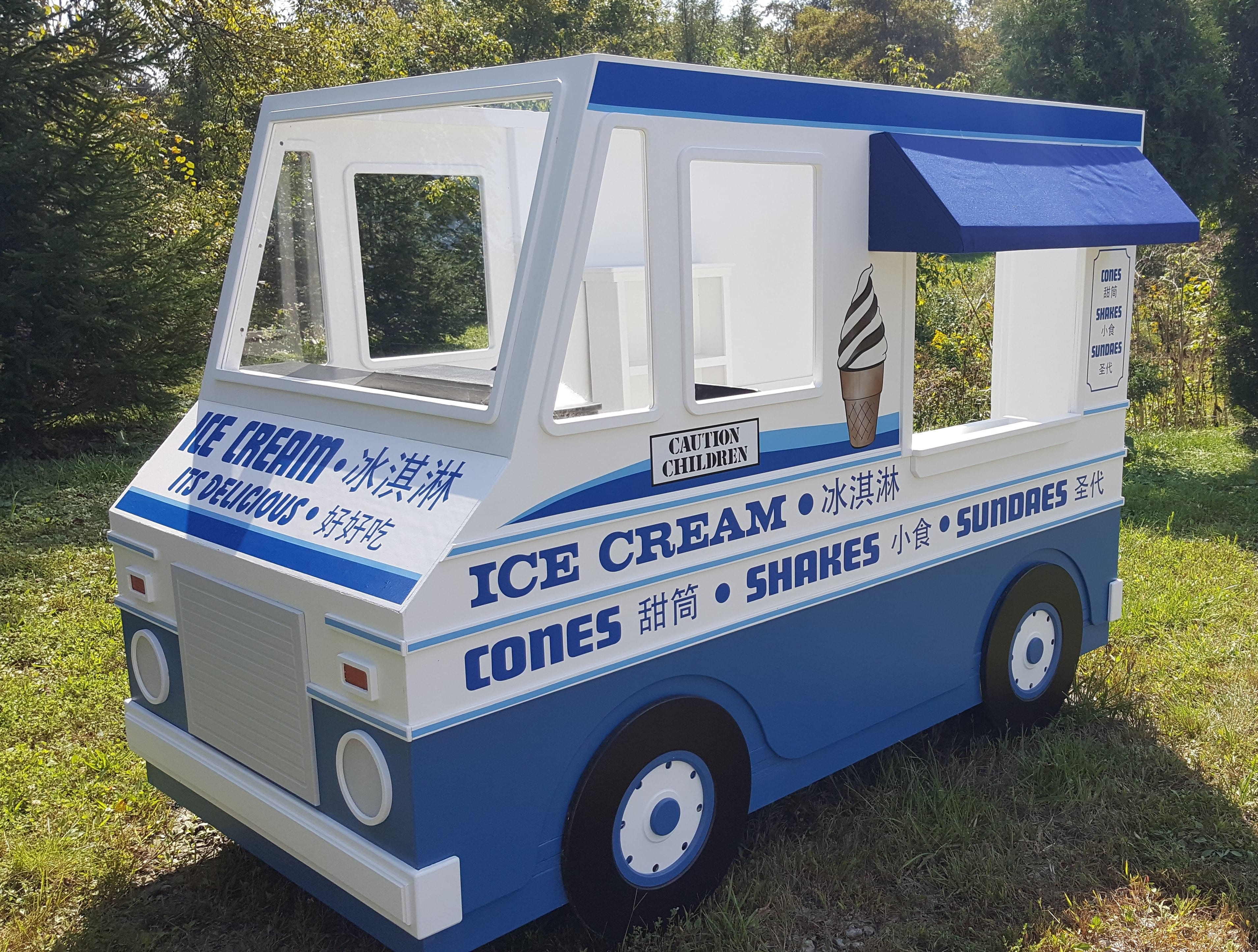Tampa Truck Center >> Custom Playhouse Designs for Businesses | Lilliput