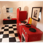 Custom Kitchens For Playhomes